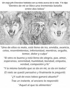 el cuento de los lobos